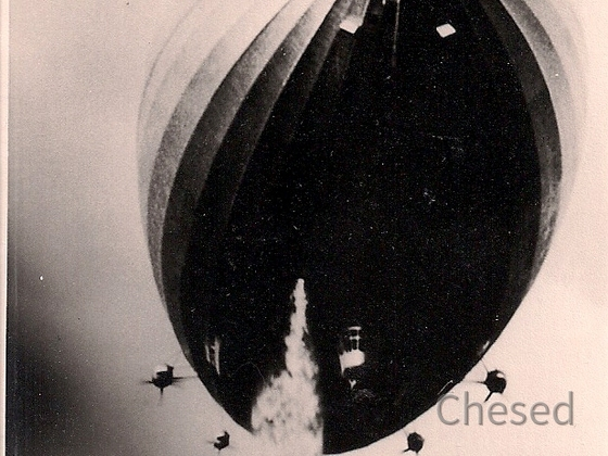 Zeppelin Hindenburg LZ 129 - Wasserballast Ablassen - Frankfurt am Main - 1937