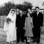 Willy Gode & Kinder zu Hochzeit von Heinz Halbschwester Ursula