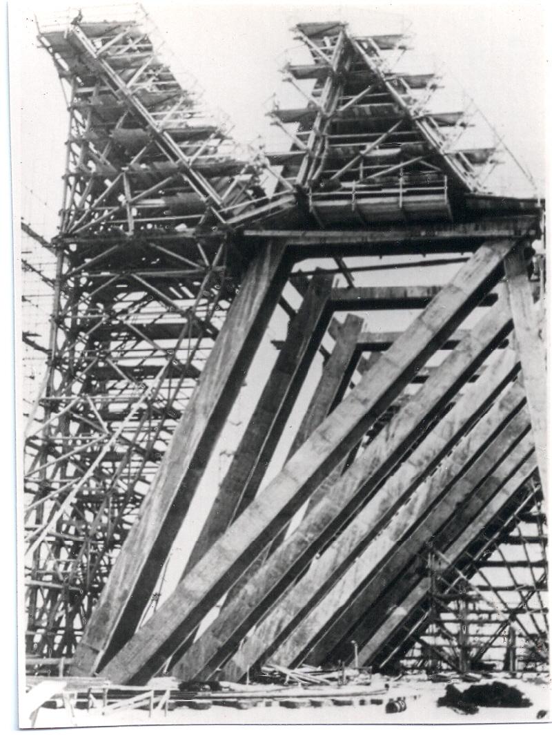 Flughafen Frankfurt - Bau Jumbohalle 5 - 1968-1969 Bild1
