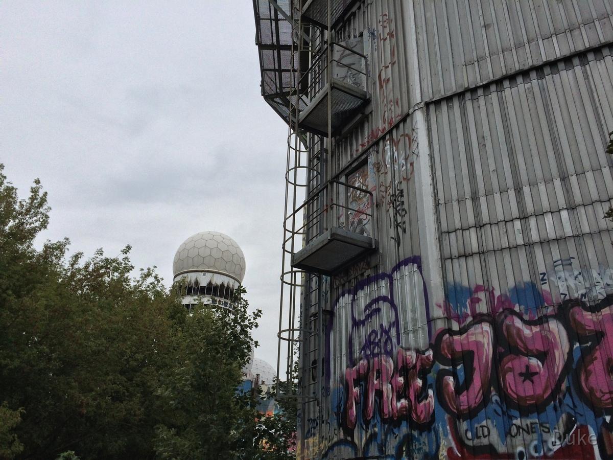 Berlin - Teufelsberg - Field Station - Radoms - Radomes