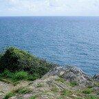 Schöner Wanderweg entlang der Atlantikküste - Cornwall - Polperro
