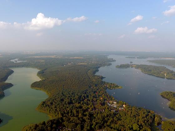 Sacrower See - Pfaueninsel in der Havel