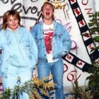Scheiße an der Berliner Mauer - 1988 - Siggi und Duke