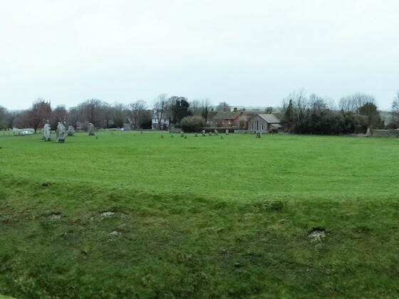 Avebury - Innere Kreise