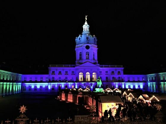Weihnachtsmarkt vor dem Schloss Charlotenburg