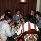 Party 1980 – Rüsselsheim – Hans Mohndorf – Margit Mohndorf – Christel Heck – Peter Wernecke – Marga Ackermann – Brigitte Wernecke