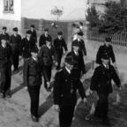 Feuerwehr Königstädten - 25-jähriges Jubiläum 1955 - Umzug