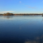 Tegeler See Winter-Panorama