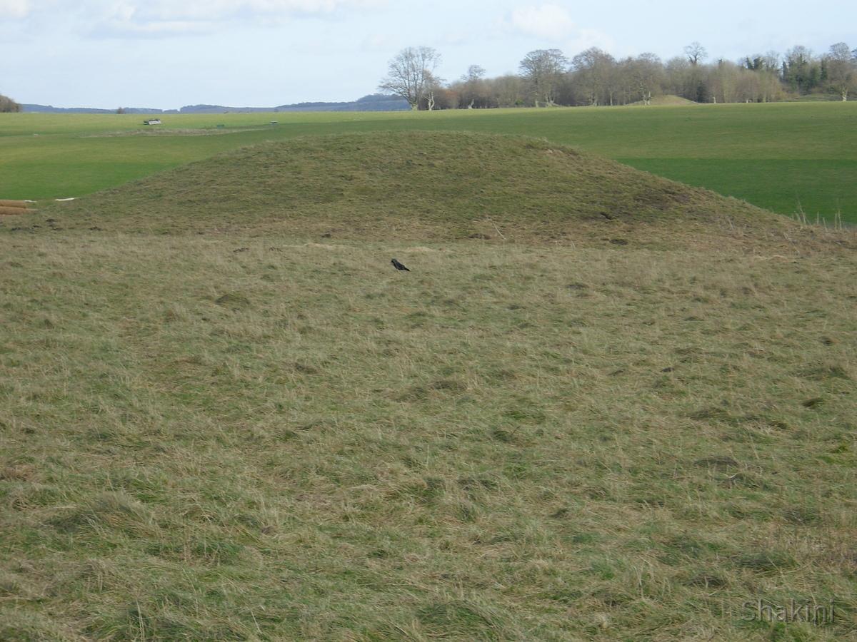 Stonehenge - Hügelgräber
