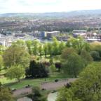 Blick auf Bristol aus dem Cabot Turm