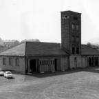 Feuerwehr Königstädten - Gruppenführerlehrgang Kassel 1958 - Turmbau