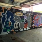 Berlin - Teufelsberg - Graffiti - Bruce (Bruce Lee)