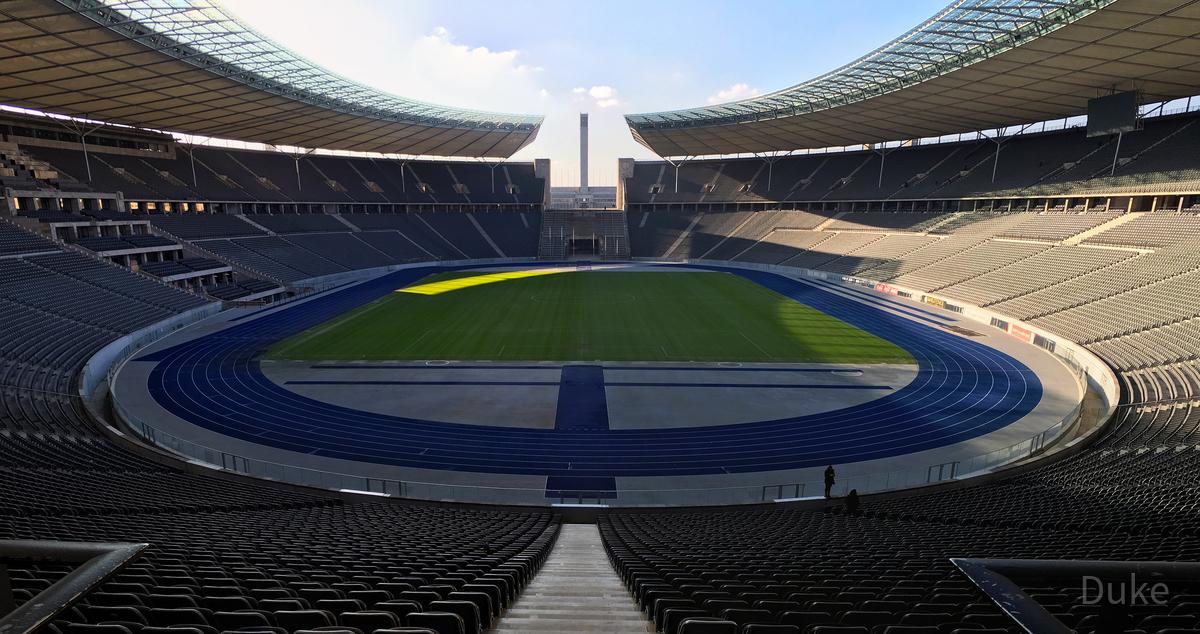 Olympiastadion Berlin Panorama
