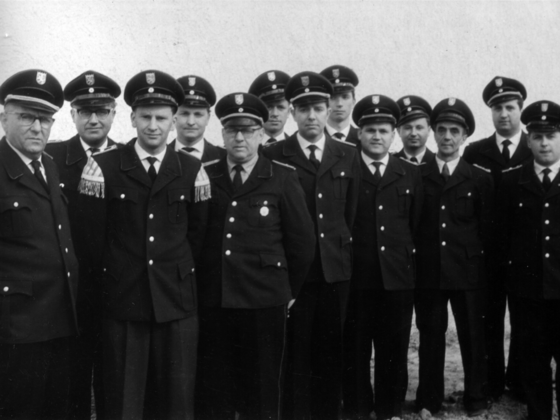 Freiwillige Feuerwehr Königstädten - Der harte Kern 1970
