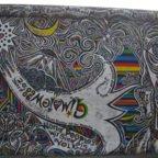 East Side Gallery - Berlin - Graffitis - Komet