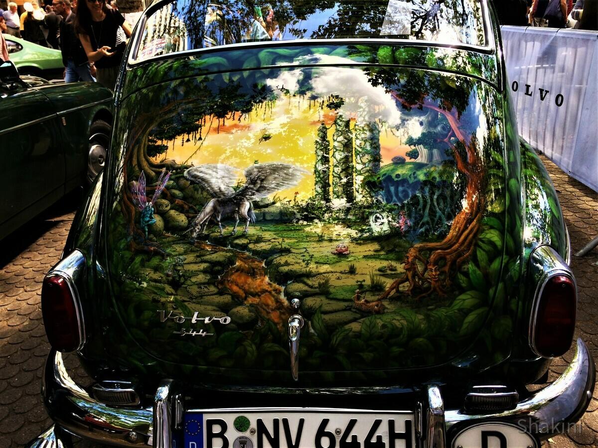 Volvo 344 - Fantasy Lackierung