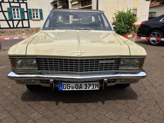 Opel Admiral 2800 S Automatik Frontansicht