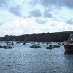 Mit dem Boot nach Fowey - Cornwall