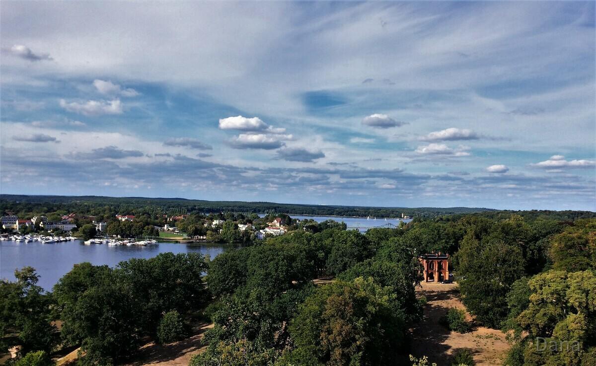 Blick von dem Flatowturm